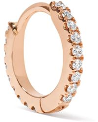 Maria Tash - 18-karat Rose Gold Diamond Earring - Lyst