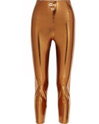 Lisa Marie Fernandez Legging En Pvc Stretch Métallisé Karlie - Multicolore