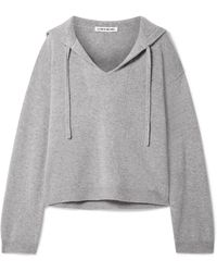Elizabeth and James - Margot Oversized Cashmere Hooded Top - Lyst