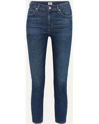 Citizens of Humanity - Harlow Mid-rise Straight-leg Jeans - Lyst
