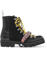 House of Holland - X Grenson Hiking Boot (black) - Lyst