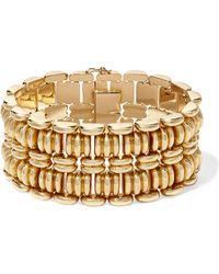 Fred Leighton 1940s 18-karat Rose Gold Bracelet Rose Gold One Size - Metallic