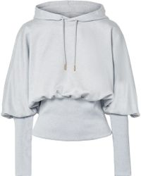 Opening Ceremony - Cotton-terry Hoodie - Lyst