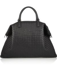 Bottega Veneta - Convertible Intrecciato Leather Tote - Lyst