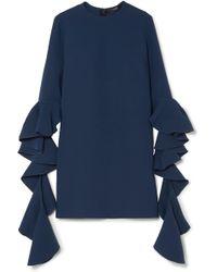 Ellery - Kilkenny Frill Sleeve Mini Dress - Lyst