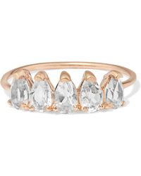 Loren Stewart - 10-karat Gold Topaz Ring - Lyst