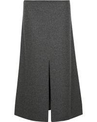 CALVIN KLEIN 205W39NYC - Hova Wool-blend Felt Midi Skirt - Lyst