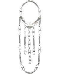 DANNIJO - Loire Silver-plated Necklace - Lyst