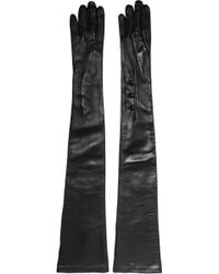 Alexander McQueen - Leather Gloves - Lyst