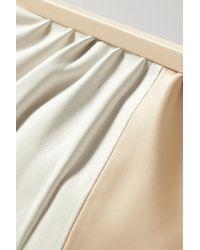 Oroton Celia Two-tone Leather Clutch - Multicolour