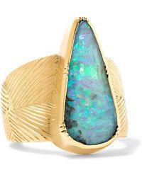 Brooke Gregson - Eos 18-karat Gold Opal Ring - Lyst