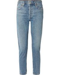 Agolde - Jamie High-rise Straight-leg Jeans - Lyst