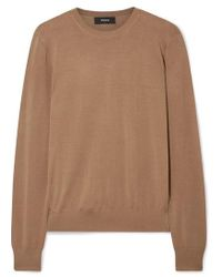 Theory Wool-blend Sweater - Brown