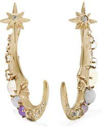 Venyx | 18-karat Gold Multi-stone Earrings | Lyst