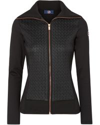 Fusalp - Myrtille Quilted Shell And Stretch-jersey Jacket - Lyst