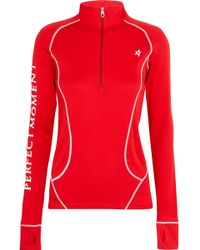 Perfect Moment   Jersey Ski Top   Lyst