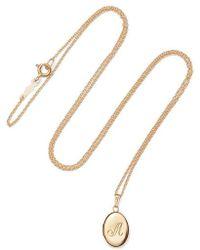 Catbird - Dollhouse 14-karat Gold Necklace - Lyst