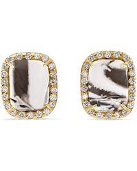 Kimberly Mcdonald - 18-karat Gold, Opal And Diamond Earrings - Lyst