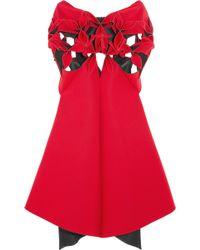 Junya Watanabe - Asymmetric Cutout Neoprene Dress - Lyst