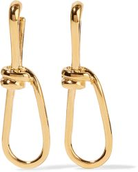 Annelise Michelson | Wire Gold-plated Earrings | Lyst