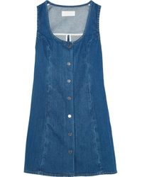 Kéji Denim Mini Dress - Blue