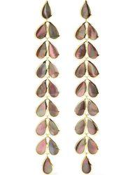 Ippolita - Polished Rock Candy Laurel 18-karat Gold Shell Earrings Gold One Size - Lyst