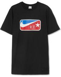 Nike - + Riccardo Tisci Lab Printed Cotton-jersey T-shirt - Lyst