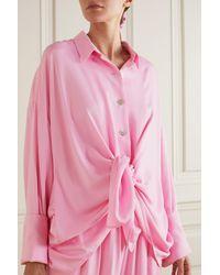 Sleeper Pyjama Aus Webstoff - Pink