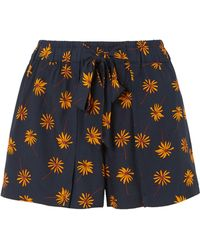 Madewell - Floral-print Voile Shorts - Lyst