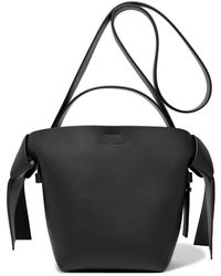 Acne Studios - Musubi Mini Knotted Leather Shoulder Bag - Lyst