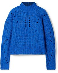 Isabel Marant - Jilly Merino Wool Turtleneck Sweater - Lyst