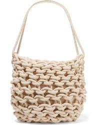 Alienina - Woven Cotton Shoulder Bag - Lyst