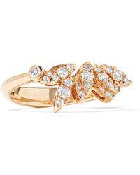 Stephen Webster - Hearts On Fire White Kites 18-karat Rose Gold Diamond Ring Rose Gold 7 - Lyst