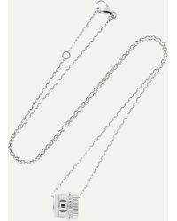 Boucheron Quatre Radiant Edition 18-karat White Gold Diamond Necklace - Multicolour