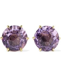 Ippolita - Rock Candy 18-karat Gold Amethyst Earrings - Lyst