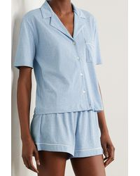 Skin + Net Sustain Celina Pyjama Aus Bio-pima-baumwoll-jersey - Blau