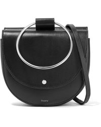 Theory - Whitney Leather Shoulder Bag - Lyst