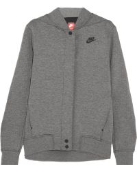 Nike - Tech Fleece Destroyer Perforated Cotton-blend Jersey Jacket - Lyst