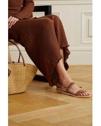 Ancient Greek Sandals Clio Leather Sandals - Brown