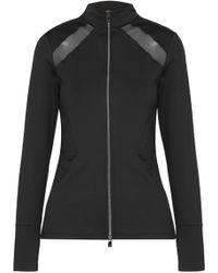 Heroine Sport - Studio Mesh-paneled Stretch Jacket - Lyst