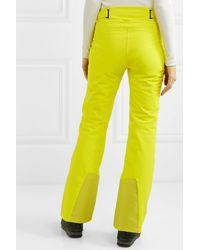 Kjus Formula Straight-leg Ski Trousers - Yellow