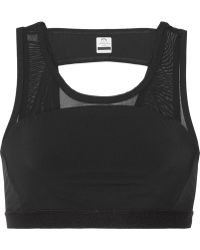 Athletic Propulsion Labs - Panelled Mesh And Stretch Sports Bra - Lyst