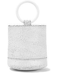 Simon Miller - Bonsai 15 Mini Cracked-leather Bucket Bag - Lyst