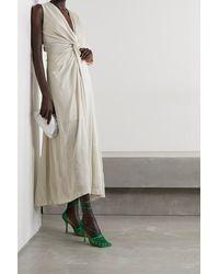 Lanvin Asymmetrische Robe Aus Lurex® Mit Twist-detail - Mettallic