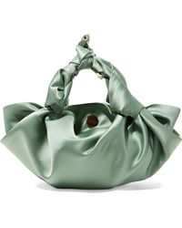 The Row | Ascot Small Satin Tote | Lyst