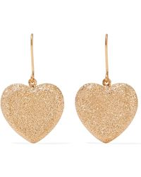 Carolina Bucci   Heart 18-karat Gold Earrings   Lyst