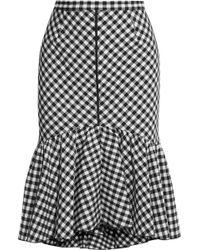 TOME Knee Length Skirt - Black