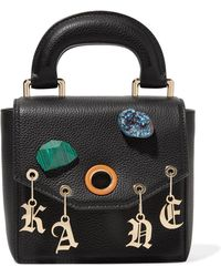 Christopher Kane - Gypsy Bonnie Embellished Textured-leather Tote - Lyst