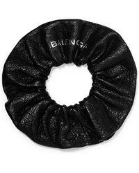 Balenciaga | Chouchou Textured-leather Bracelet | Lyst