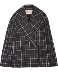 Awake - Jellycheck Oversized Cotton-blend Twill Jacket - Lyst